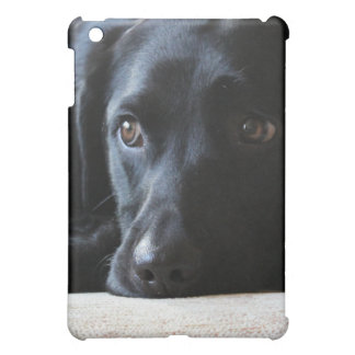 Black Labrador iPad Mini Cases