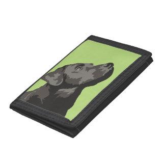 Black Labrador Pop Art Wallet