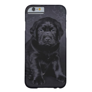 Black Labrador puppy Barely There iPhone 6 Case