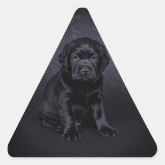 Black Labrador puppy Stickers