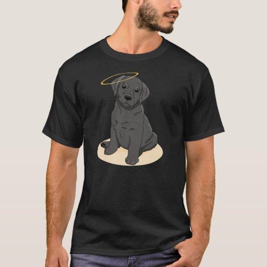 Black Labrador Retriever Angel T-Shirt