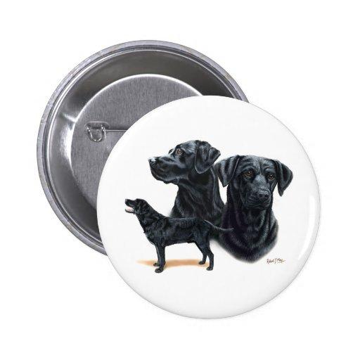 Black Labrador Retriever Pins