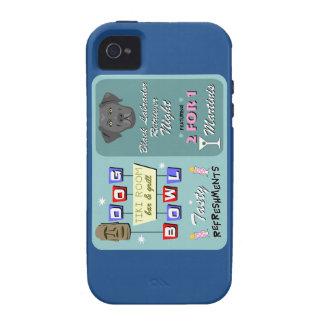 Black Labrador Retriever Bowling Case-Mate iPhone 4 Cover