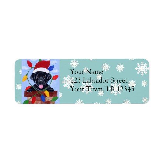 Black Labrador Retriever Christmas