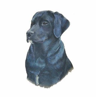 black labrador retriever dog sculpture magnet photo sculpture magnet