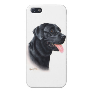 Black Labrador Retriever iPhone 5/5S Cover