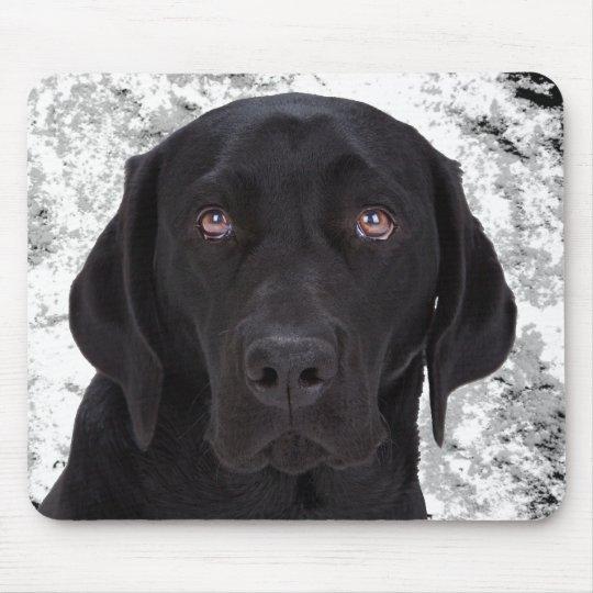 Black Labrador Retriever Mouse Mat