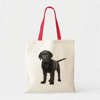 Black Labrador Retriever Puppy Dog Love Tote Bag