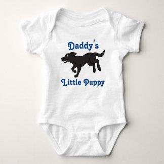 Black Labrador Retriever with Blue Text T-shirts