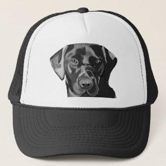 Black Labrador Trucker Hat