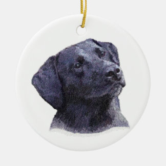 Black Labradore Retreiver Ornament