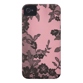 Black lace iPhone 4 covers