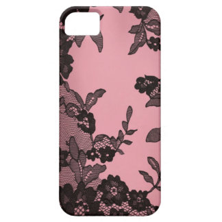 Black lace iPhone 5 cover