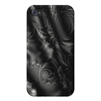 Black Lace Fractal iPhone 4/4S Cover