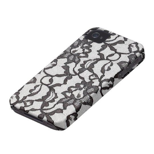 Black Lace iPhone4 case