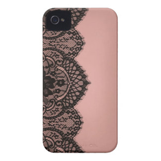 Black lace iPhone 4 Case-Mate case