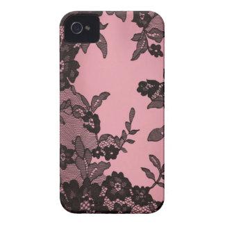 Black lace iPhone 4 Case-Mate cases