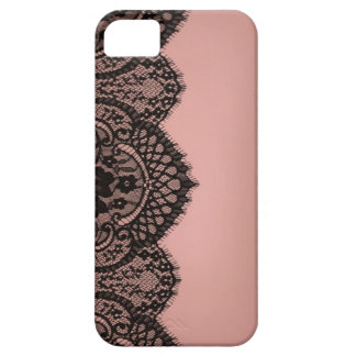 Black lace iPhone 5 cases
