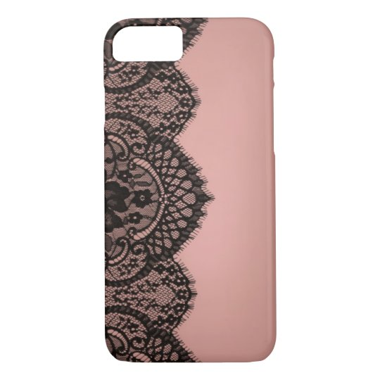 Black lace iPhone 8/7 case