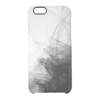 Black lace netting fashion sophisticated clear clear iPhone 6/6S case