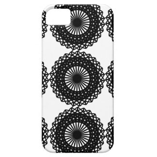 Black Lace Pattern Design. Custom Case For The iPhone 5