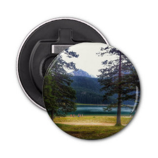 Black Lake. Žabljak. Montenegro. Bottle Opener
