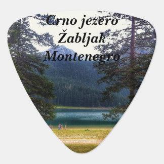 Black Lake. Žabljak. Montenegro. Plectrum