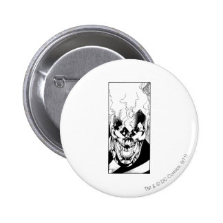 Black Lantern 6 Cm Round Badge
