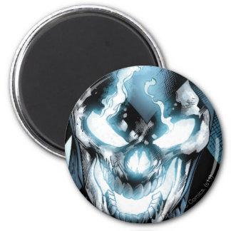 Black Lantern - Color 6 Cm Round Magnet