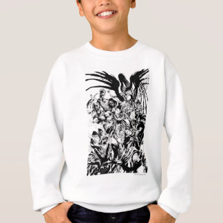 Black Lantern Corps - Black and White Sweatshirt