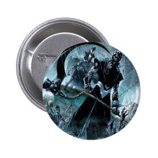 Black Lantern Corps Panel 6 Cm Round Badge
