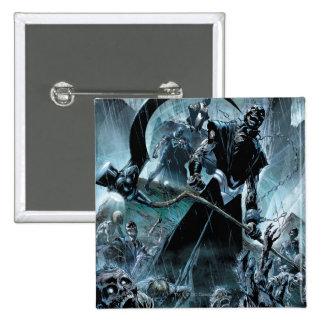 Black Lantern Corps Panel 15 Cm Square Badge