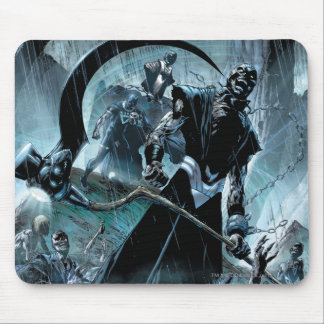 Black Lantern Corps Panel Mouse Pad