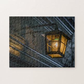 Black lantern photo puzzle