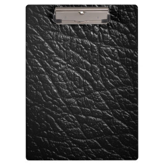 Black Leather Texture For Background Clipboard