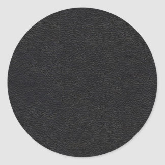 Black Leather Texture Stickers