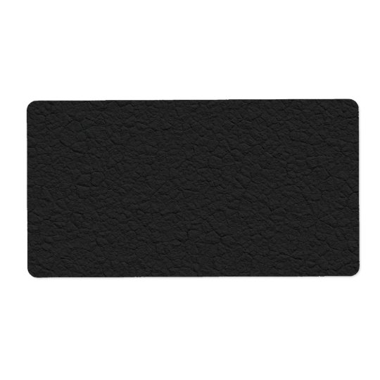 Black Leather Textured