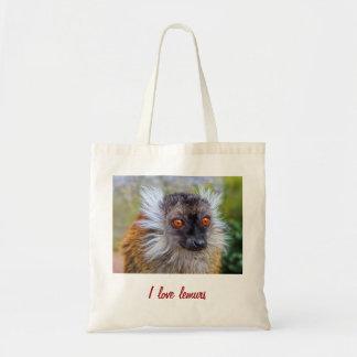 Black lemur bag