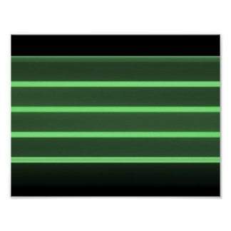 black light  green  Value Poster Paper (Matte)