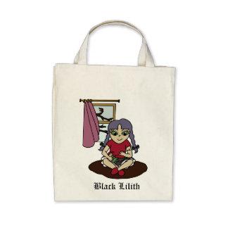 Black Lilith Tote Bag