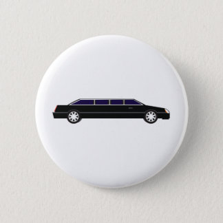 Black Limo 6 Cm Round Badge