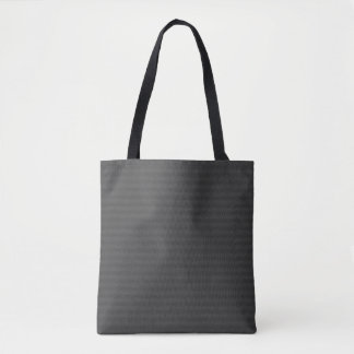 Black Lined Abstract Tote Bag
