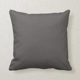 Black Linen Cushion