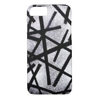 Black Lines iPhone 7 Case