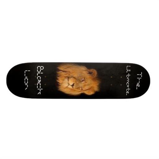 Black Lion Custom Skateboard