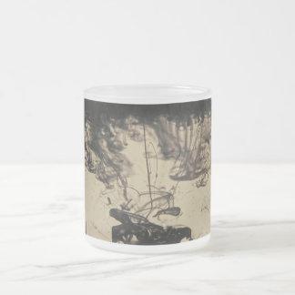Black liquid mug