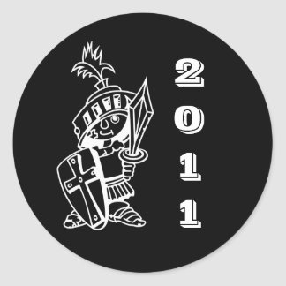 black little crusader 2011 stickers