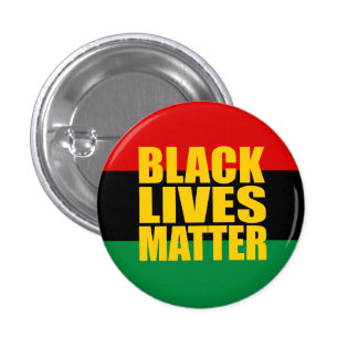 """BLACK LIVES MATTER"" 1.25-inch 3 Cm Round Badge"