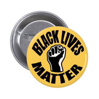 """BLACK LIVES MATTER"" 2.25-inch 6 Cm Round Badge"