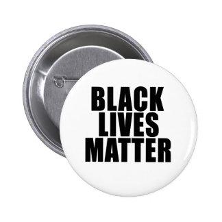 """BLACK LIVES MATTER"" 6 CM ROUND BADGE"